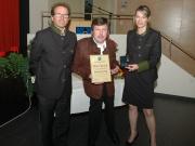Verleihung des Ehrenzeichens in Gold der Gemeinde Eben an Albert Prantl