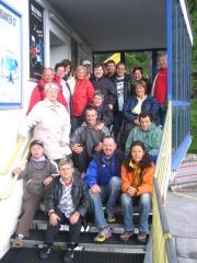 WIR bei der Talstation der Rofanseilbahn